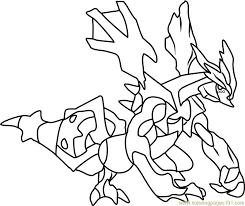 kyurem pokemon coloring page free pokémon coloring pages