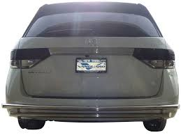honda odyssey rear bumper 05 10 honda odyssey rear bumper protector grill guard layer