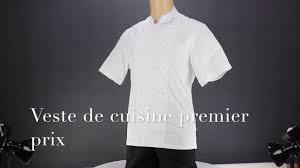 blouse de cuisine pas cher veste de cuisine pas cher premier prix