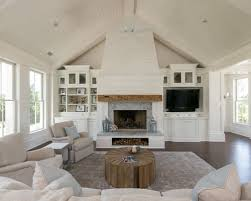 built in cabinet cathedral ceiling houzz