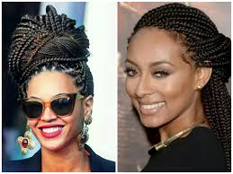 hairstyles for box braids 2015 styling my high forehead elle statement