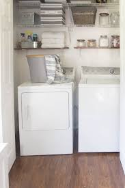 Laundry Room Closet by Beautifully Organized Small Laundry Rooms The Happy Housie