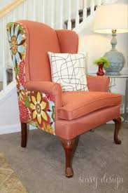 How To Reupholster Armchair Remodelaholic How To Reupholster A Tub Chair
