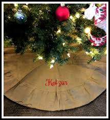 Christmas Tree Skirt Burlap Photo Album Personalized Tree Skirt All Can Download All Guide