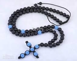 christian rosary wholesale high quality fashion cross shamballa necklace wholesale