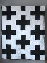 toddler quilt plus baby quilt black and white baby