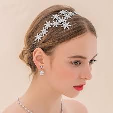 sparkly hair fashion sparkly hair hoop silver plated