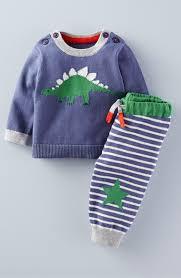 Sweaters For Toddler Boy Mini Boden U0027dinosaur U0027 Knit Sweater U0026 Pants Set Baby Boys