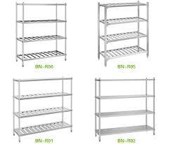 Stackable Kitchen Cabinet Organizer Stainlee Steel Commercial Kitchen Storage Shelf Buy Stainlee