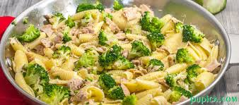 pasta salad with tuna pasta with tuna and broccoli pasta world