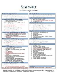 28 house specification sheet modal title specification