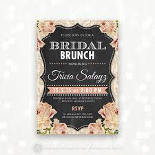 bridal tea party invitation printable bridal brunch invite bridal tea party invitation