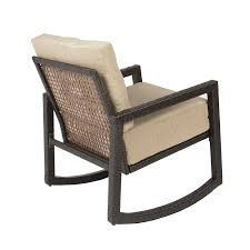 Wicker Rocking Chairs For Porch Amazon Com Best Choiceproducts Outdoor Wicker Rocking Chair With