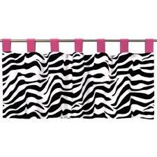 Zebra Valance Curtains Buy Zebra Valance From Bed Bath U0026 Beyond