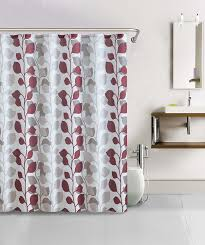 Red White Shower Curtain Red And Cream Shower Curtain M Style Full Bloom Shower Curtain