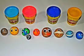 play doh planets for kids pre schoolers kindergarten
