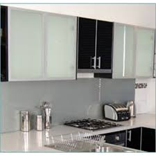 Kaboodle Mm Frosted Glass Cabinet Door Bunnings Warehouse - Kitchen cabinets with frosted glass doors
