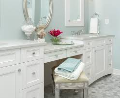 Bathroom Makeup Vanities Furniture Wonderful Baths James Kershaw Associates Images Of