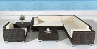 riviera 6 piece patio sectional sofa set furnituretoyourdoor