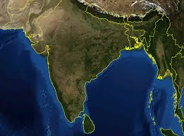 Satellite View Map Satelite Map Of India You Can See A Map Of Many Places On The