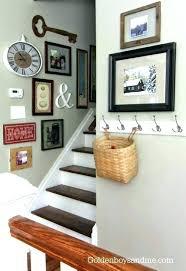 Stairwell Decor Ideas Stairwell Decorating Basement Stairwell