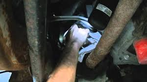 duramax engine oil change youtube