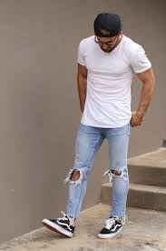 What To Wear With Light Jeans 12 Mens Vans Shoe To Wear For Inspiration Ideas Hq