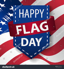 Red Flag Day Happy Flag Day Background Template Vector Stock Vector 636618445
