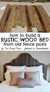 20 Diy Faux Barn Wood Finishes For Any Type Of Wood Shelterness by Best 25 Rustic Wood Headboard Ideas On Pinterest Rustic