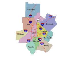 Marta Train Map Atlanta by Metro Atlanta Region Turning Bluer Including Gwinnett Cobb And