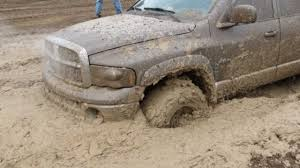 dodge mud truck dodge pickup truck mudding in carsonville youtube