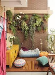 outdoor and patio hanging balcony garden ideas mixed with