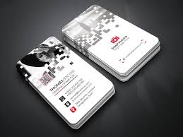 Pixel Size For Business Cards Pixel Business Card Business Card Templates Creative Market