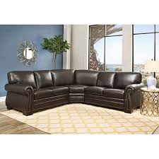 austin top grain leather sectional with ottoman top grain leather couch modern blakely sectional sam s club within 6