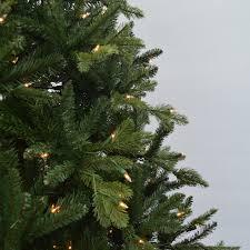 7 5 feel real slim fir artificial tree clear