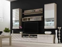 living tv unit design for living room with wallpaper tv unit