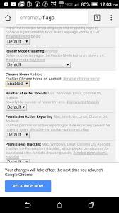 chrome for android how to move chrome s address bar to the bottom of your screen on