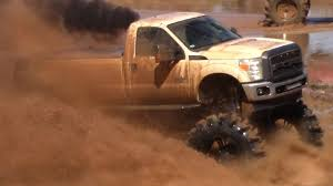 Ford Diesel Trucks Mudding - monster ford powerstroke is a mudding machine youtube