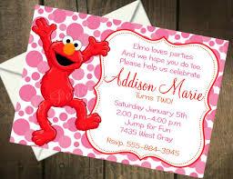 elmo birthday invitations ideas best invitations card ideas