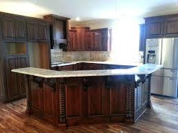 raised kitchen island kitchen island with bar top raised kitchen islands kitchen island