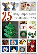 30 christmas paper collages kids artsy craftsy mom