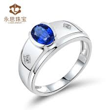 rings for men in pakistan blue sapphire mens ring men style sapphire diamond ring with 18k