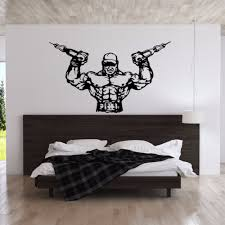 Home Decor For Man Online Get Cheap Muscle Man Sticker Aliexpress Com Alibaba Group