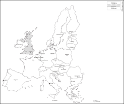 Europe Capitals Map by Europe Free Map Free Blank Map Free Outline Map Free Base Map