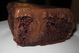 chocolate poke cake fork lore