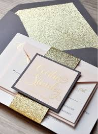 wedding invite ideas 17 glitter wedding ideas for every glam