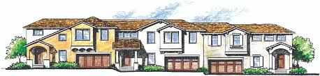 house review multifamily for single family builders pro builder the garages open to the front or the rear allowing the flexibility of alley access the main floor is devoted to the kitchen and great room