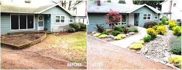 Small Yard Landscaping Ideas by Landscaping Ideas Small Yard Around House Front Porch Home Design