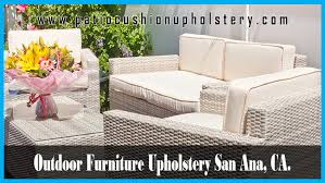 Upholstery Outdoor Furniture by Santa Monica Patio Cushion Upholstery