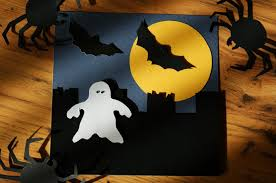 craft magic handmade halloween cards how to make a ghost